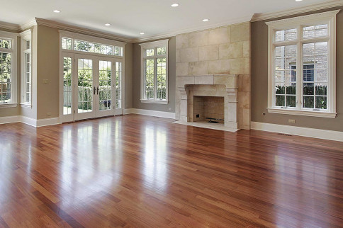 Hardwood floors installed in Zeeland, MI